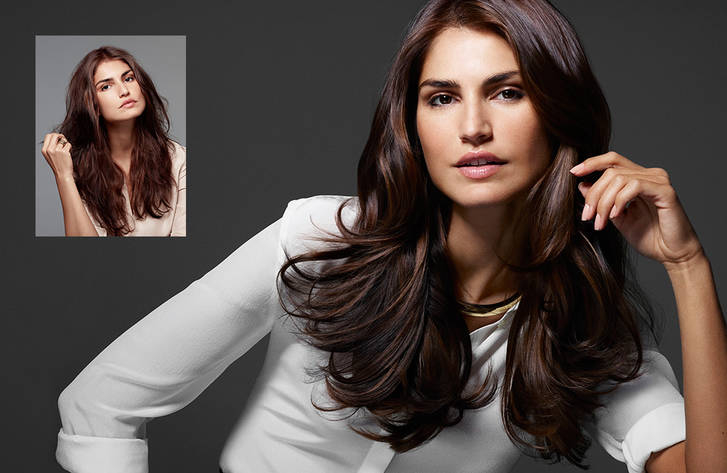 Brunette • Kerasilk Luxury Hair Care • Cosmo Hair & Beauty