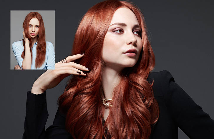 Redhead • Kerasilk Luxury Hair Care • Cosmo Hair & Beauty